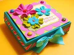 Happy Birthday - mini pizza box!