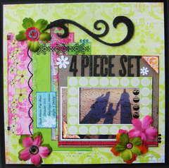 4 Piece Set