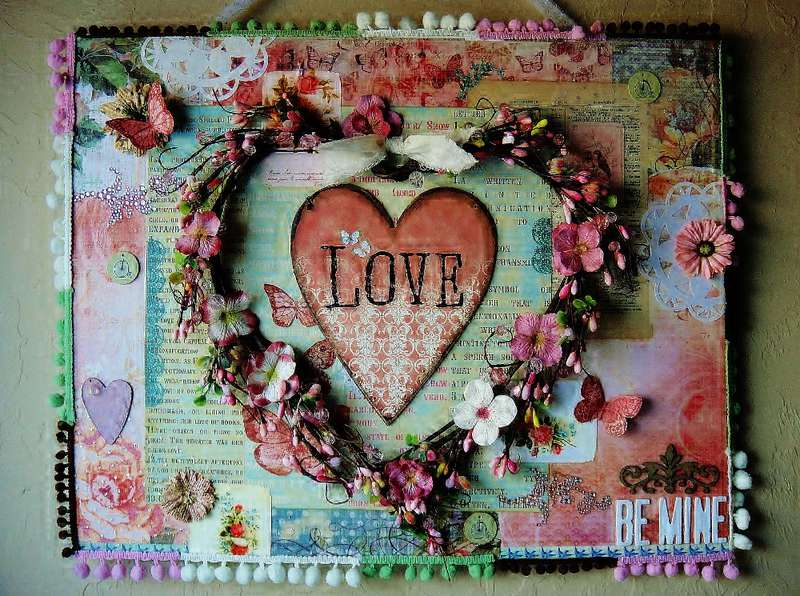 Love, Be Mine - Scraps of Elegance