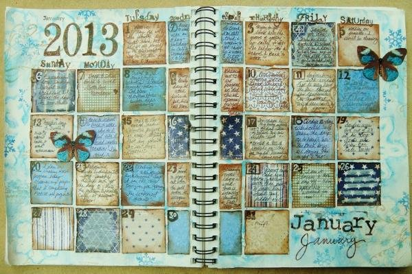 January 2013  - Maja Designs January Inspiration Mood Board