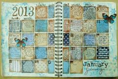 January 2013  - Maja Designs January Inspiration Mood Board