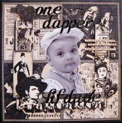 One Dapper Lil Dude - Scraps of Darkness March Kit