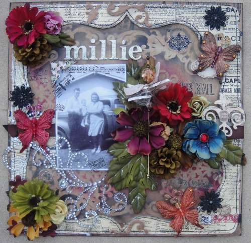 "Millie - Scraps of Darkness Sept ""Passages"" kit"