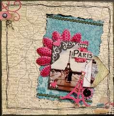Paris - Twisted Sketch #DT05