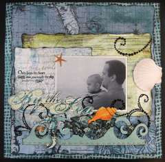 By the Sea - Sketches 2 Scrapbook