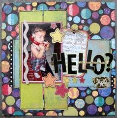 Hello-Can You Hear Me Now? - Sketches2Scrapbook
