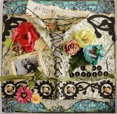 "Love Letters - Scraps of Darkness ""ENVY"" kit"