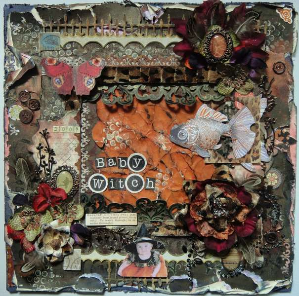 """Baby Witch - Scraps of Darkness June """"Welcome to the Jungle"""" kit"""