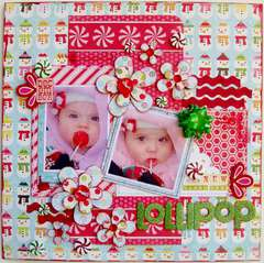 Lollipop - Sketches2Scrapbook