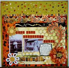 Same Time, Different Place - Twisted Sketch #107 and Scraps of Darkness June Kit