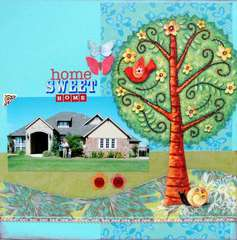 Home Sweet Home - Twisted Sketch #64 with the TREE twist