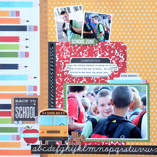 Back to School- Simple Stories Smarty Pants