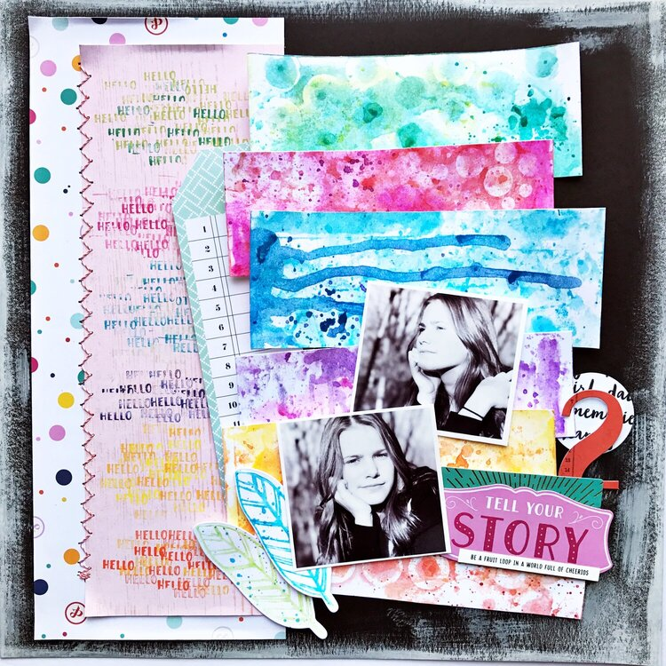 Tell Your Story Layout
