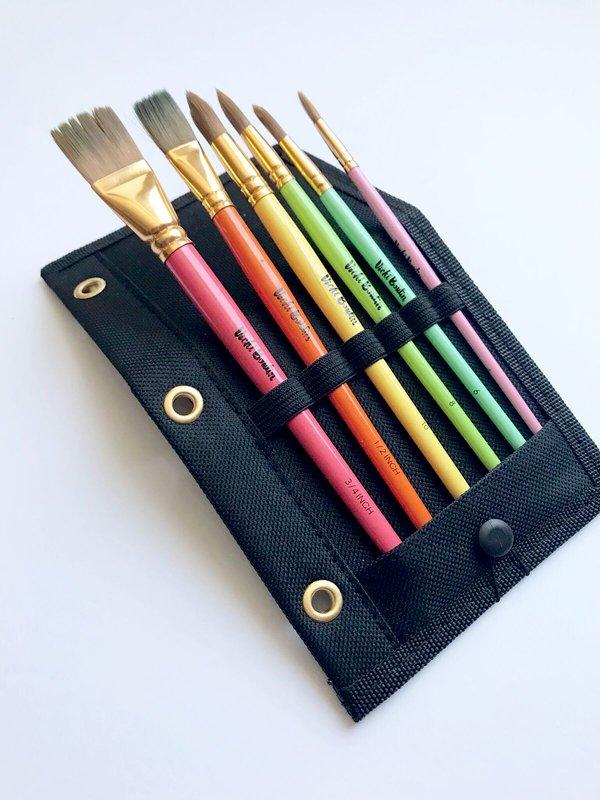Vicki Boutin Paint Brushes