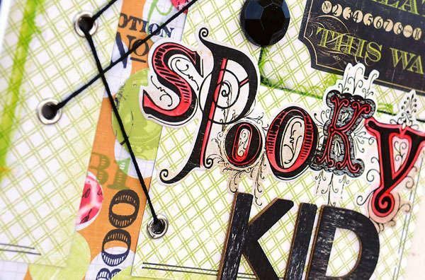 Spooky Kid Phantom *Pink Paislee*