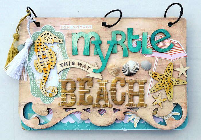 Myrle Beach Nantucket mini *Pink Paislee*