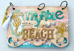 Myrle Beach Nantucket mini *Pink Paislee*