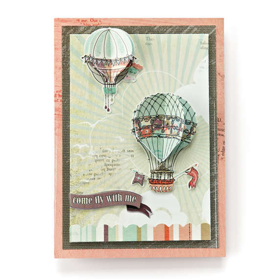 Come Fly With Me Card- BG What's Up
