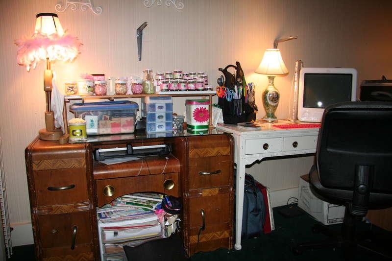 My scrap area