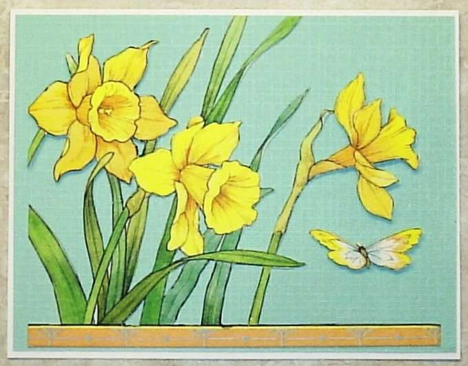 recycled daffodils