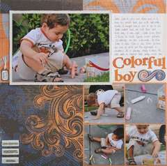 Colorful Boy