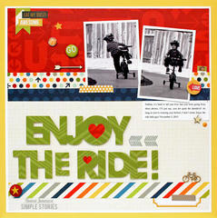 Enjoy the Ride! {Simple Stories}