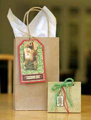 Gift Tag and Gift Card Bag