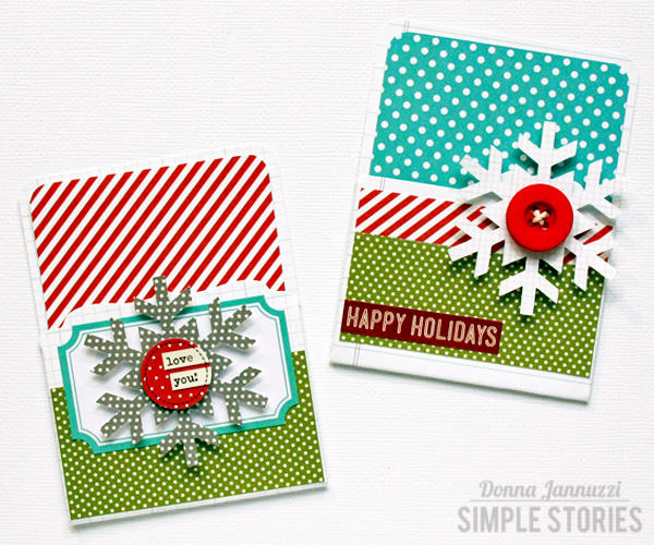 Gift Card Holders {Simple Stories}