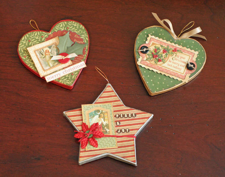 Graphic 45 Wax Ornaments