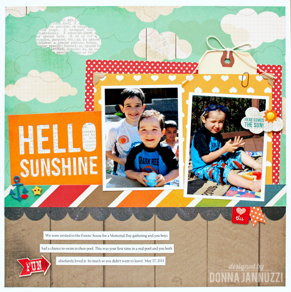 Hello Sunshine {Simple Stories}