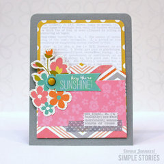 hey there sunshine! {Simple Stories}