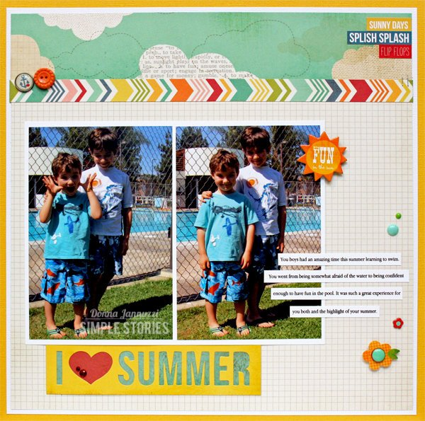 I Love Summer {Simple Stories}