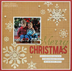 Merry Christmas {Simple Stories}