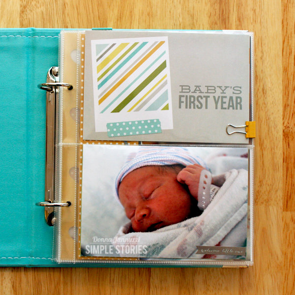 Sam's First Year {Simple Stories}