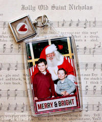 Merry & Bright Ornament {Simple Stories}
