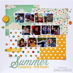 Summer Twenty-thirteen {Simple Stories}