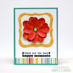happy moments {Simple Stories}