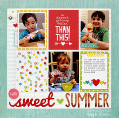 hello sweet summer {Simple Stories}