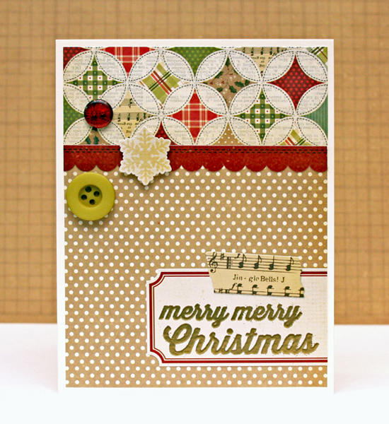 merry merry Christmas {Simple Stories}