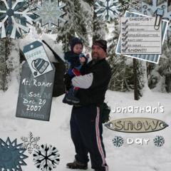 Jonathan's Snow Day