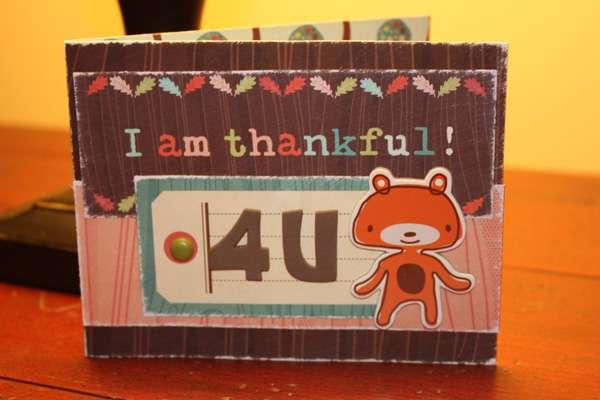 I am Thankful Card