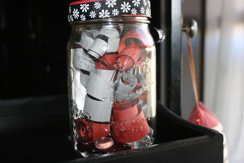 back side of mason jar