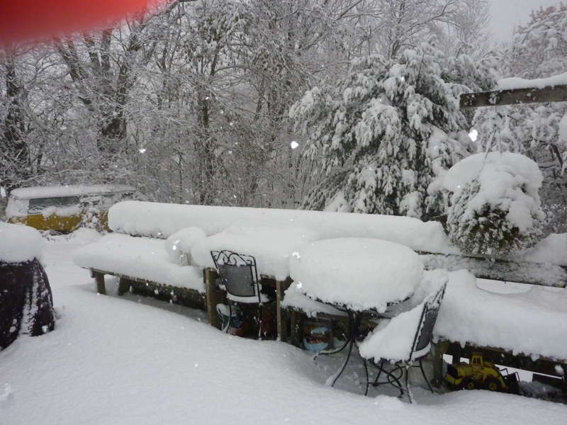 Trick or Treat Snow Storm Oct. 30, 2011
