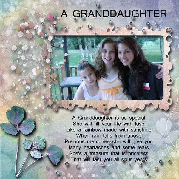 A GRANDDAUGHTER