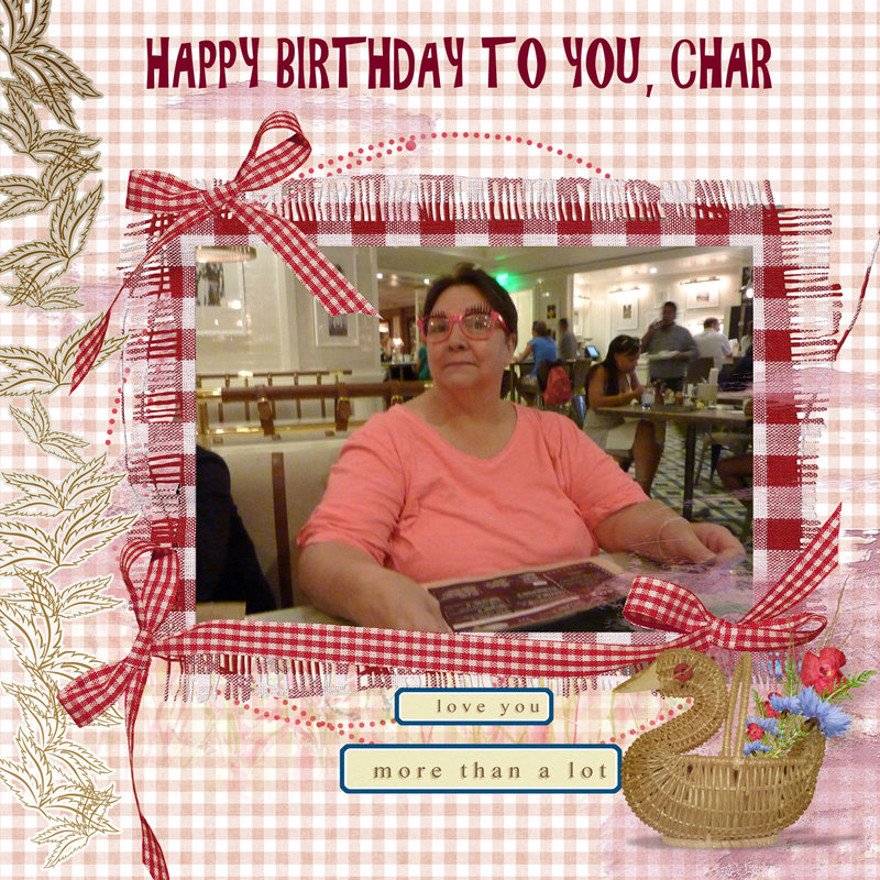 Happy Birthday to You Char