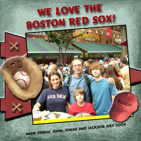 We Love The Boston Red Sox