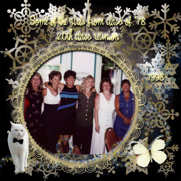 Some of the girls from class of '78