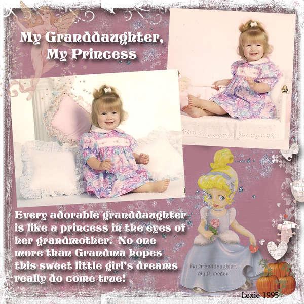 My Granddaughter, My Princess