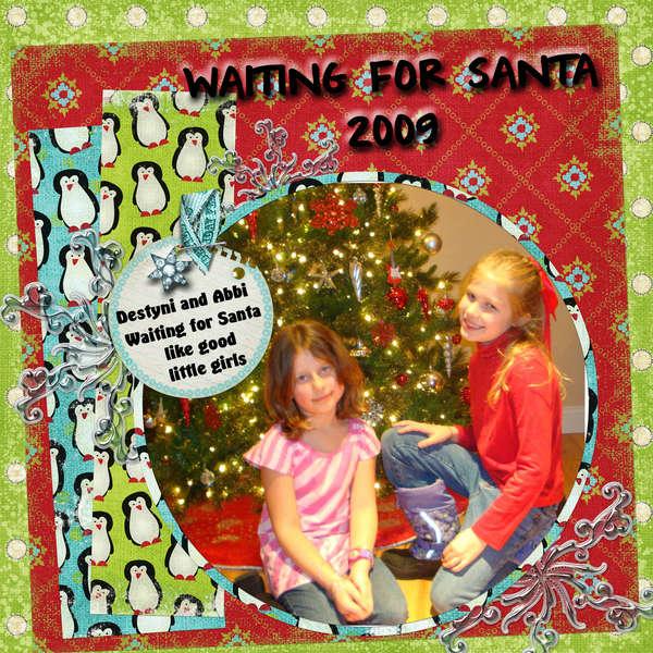 Waiting For Santa 2009