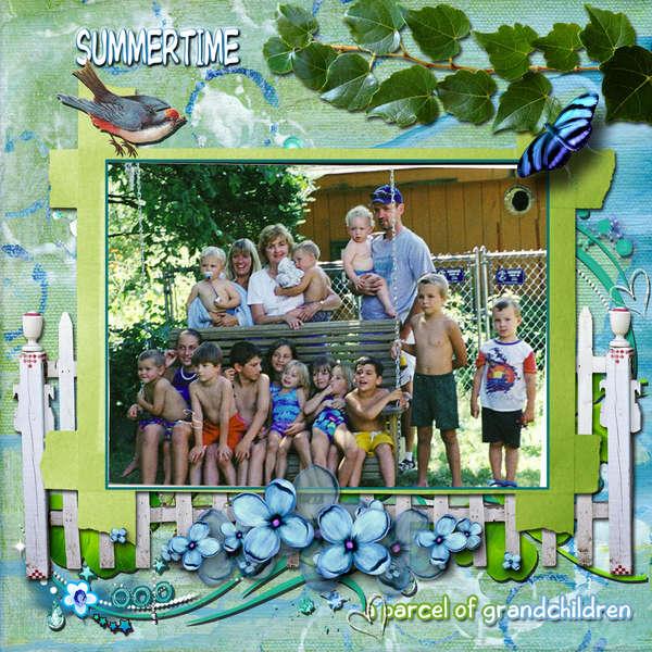 Summertime....a parcel of grandchildren